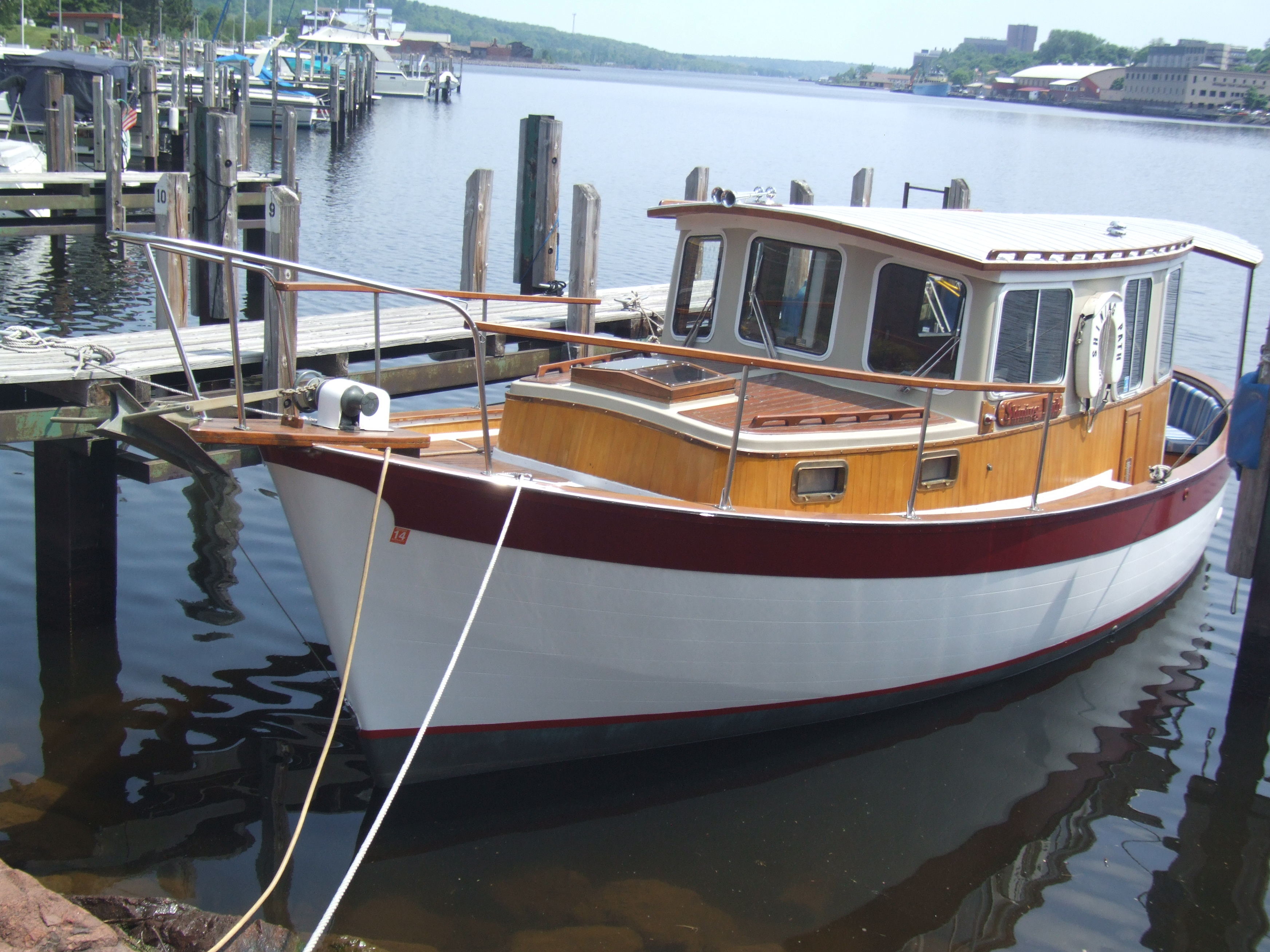 Trawlers For Sale: Trawler For Sale Lake Superior